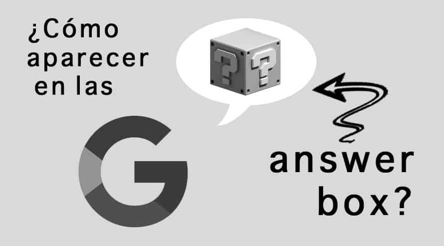 answer box