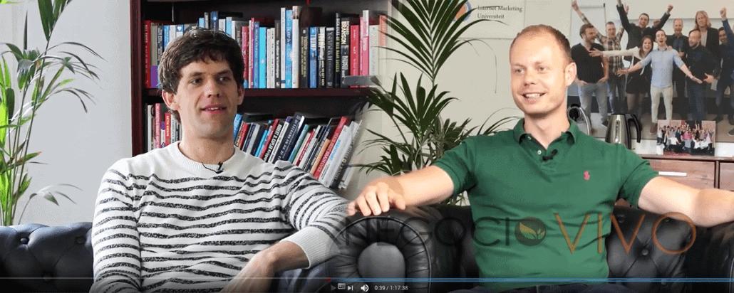 Miedo al fracaso como empresario (entrevista con Jesse van der Velde)