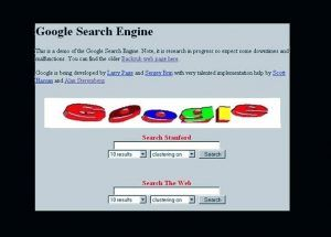 logo google 1997